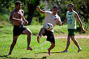Esmeraldas_MG, Brasil...Campo de futebol comunidade rural da Laginha em Esmeraldas, Minas Gerais...A soccer field in the rural community Laginha in Esmeraldas, Minas Gerais. ..Foto: JOAO MARCOS ROSA / NITRO