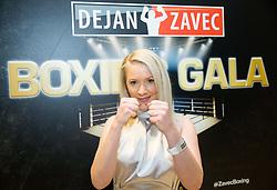 Beba Scap during Dejan Zavec Boxing Gala event in Laško, on April 21, 2017 in Thermana Lasko, Slovenia. Photo by Vid Ponikvar / Sportida