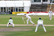 Steven Croft under pressure during the Bob Willis Trophy match between Lancashire County Cricket Club and Leicestershire County Cricket Club at Blackfinch New Road, Worcester, United Kingdom on 4 August 2020.