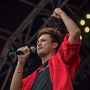 & Juliet performs at West End Live 2019 - Day 2 in Trafalgar Square, on 23 June 2019, London, UK.