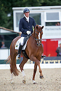 Michael George Eilberg - Woodlander Farouche<br /> FEI World Breeding Dressage Championships for Young Horses 2012<br /> © DigiShots
