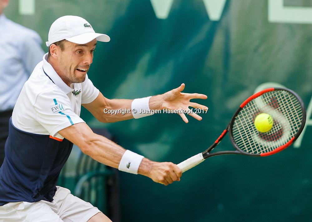 ROBERTO BAUTISTA AGUT (ESP)<br /> <br /> Tennis - Gerry Weber Open 2017 - ATP 500 -  Gerry Weber Stadion - Halle / Westf. - Nordrhein Westfalen - Germany  - 21 June 2017. <br /> &copy; Juergen Hasenkopf