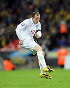 England v Ukraine 2010 FIFA World Cup Qualifier 01.04.09. Wayne Rooney England 2008/09
