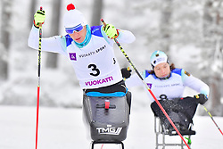 ESKAU Andrea, GER, LW11, WICKER Anja, LW10.5 at the 2018 ParaNordic World Cup Vuokatti in Finland