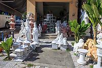 A marble statue shop at the base of Nhuy Son Mountain, Da Nang, Vietnam