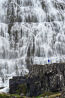 Image from westfjords in Iceland waterfall Dynjandi