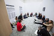 dOCUMENTA (13) in Kassel, Germany..Neue Galerie..Anger Workshops.