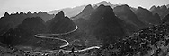 Vietnam Images-panoramic landscape-Ha Giang