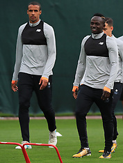Liverpool Training Session and Press Conference - 12 September 2017