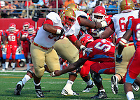 Keydets rally to tie late, but fall at Delaware State 17-10.