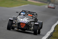 #72 Greenwood / Haire Caterham Supersport 1600 during the CSCC Meteor Suspension Open Series at Oulton Park, Little Budworth, Cheshire, United Kingdom. October 15 2016. World Copyright Peter Taylor/PSP. <br /> Copy of publication required for printed pictures.  Every used picture is fee-liable. http://archive.petertaylor-photographic.co.uk