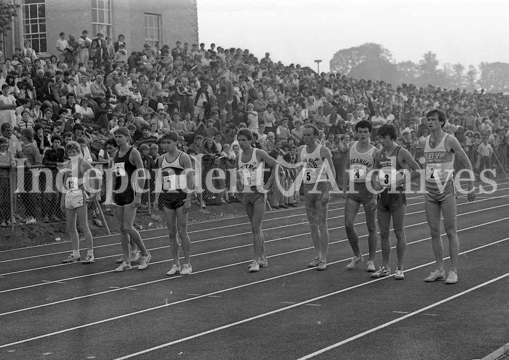 International 1 Mile Run at Belfield, circa July 1983 (Part of the Independent Newspapers Ireland/NLI Colletion).