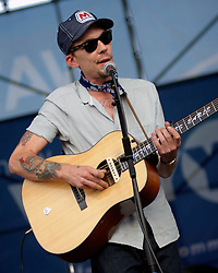 Riverstage, Great Plaza of Penn's Landing, Philadelphia, PA - September 2&3, 2011;  Country folk troubadour Justin Townes Earle: 'I'm a hard dog to keep under the porch.'