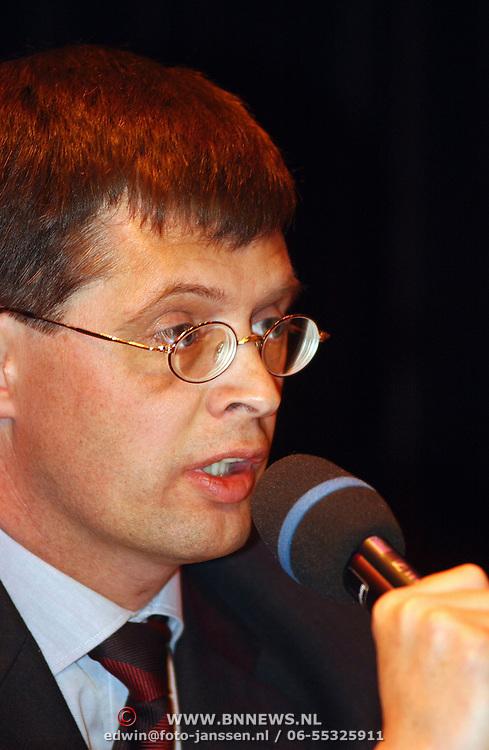 Lijsttrekkersdebat Ouderen, fractievoorzitter CDA Jan Peter Balkenende