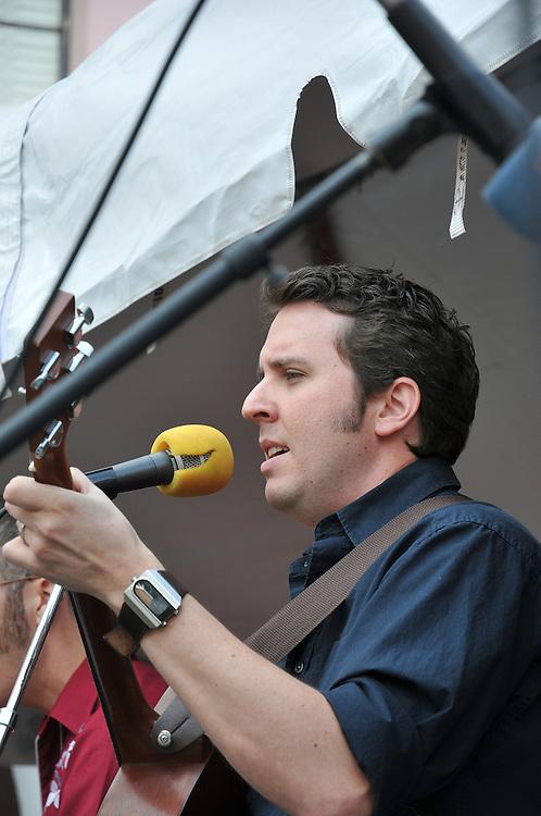 Mas o Menos String Band concert at 2010 Tucson Folk Festival. Event photography by Martha Retallick.