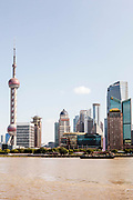 Views of Pudong from The Bund