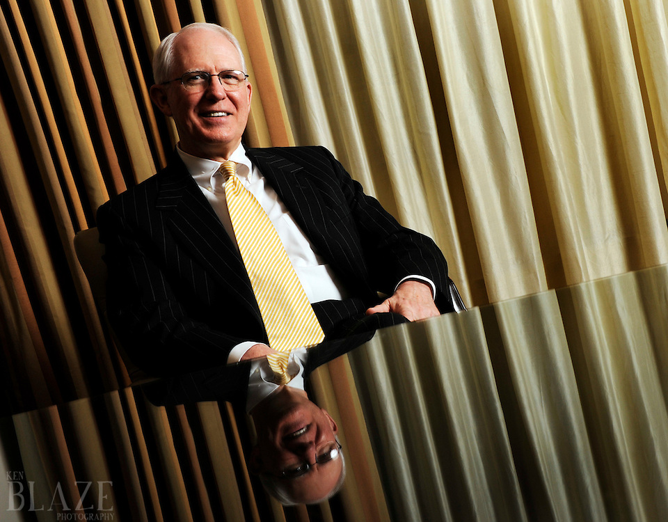 Attorney Curtiss Isler photographed at Tucker Ellis & West in Cleveland,Ohio on June 23, 2009...Photo by Ken Blaze