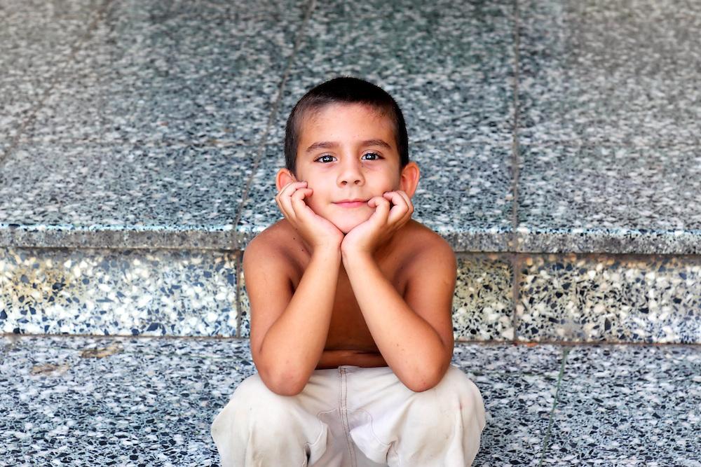 Boy in Manzanillo, Granma, Cuba.