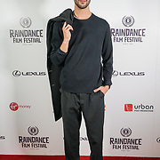 London, England, UK. 28th September 2017.Kasper Wind actor of Noble Earth attend Raindance Film Festival Screening at Vue Leicester Square, London, UK.