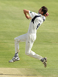 Middlesex's Steven Finn bowls - Photo mandatory by-line: Robbie Stephenson/JMP - Mobile: 07966 386802 - 03/05/2015 - SPORT - Football - London - Lords  - Middlesex CCC v Durham CCC - County Championship Division One