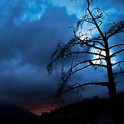 sunset at Gorge du Verdon