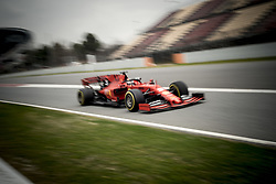February 20, 2019 - Montmelo, Barcelona, Spain - Sebastian Vettel of Ferrari F1 Team at the Circuit de Catalunya in Montmelo (Barcelona province) during the pre-season testing session. (Credit Image: © Jordi Boixareu/ZUMA Wire)