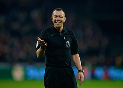 LONDON, ENGLAND - Monday, February 4, 2019: Referee Kevin Friend during the FA Premier League match between West Ham United FC and Liverpool FC at the London Stadium. (Pic by David Rawcliffe/Propaganda)
