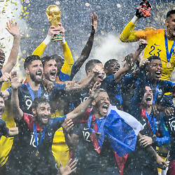 15,07,2018 World Cup Final France and Croatia