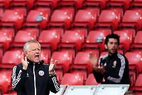Football - 2019 / 2020 Premier League - Sheffield United vs Tottenham Hotspur<br /> Sheffield United manager Chris Wilder applauds his team, at Bramall Lane.<br /> <br /> COLORSPORT/PAUL GREENWOOD