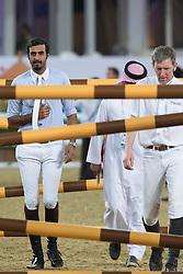 Shk Al Thani Ali Bin Khalid (QAT)<br /> CHI Al Shaqab - Doha 2013<br /> © Dirk Caremans