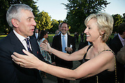 Jack Straw and Tina Brown, Launch of Tina Brown's book 'The Diana Chronicles' hosted by Reuters. Serpentine Gallery. 18 June 2007.  -DO NOT ARCHIVE-© Copyright Photograph by Dafydd Jones. 248 Clapham Rd. London SW9 0PZ. Tel 0207 820 0771. www.dafjones.com.