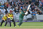 Tom Moores during the NatWest T20 Blast Quarter Final match between Notts Outlaws and Somerset County Cricket Club at Trent Bridge, West Bridgford, United Kingdom on 24 August 2017. Photo by Simon Trafford.