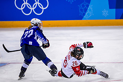 22-02-2018 KOR: Olympic Games day 13, PyeongChang<br /> Final Ice Hockey Canada - USA 2-3 / Kacey Bellamy #22 of the United States, Emily Clark #26 of Canada