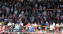 General crowd image - Photo mandatory by-line: Harry Trump/JMP - Mobile: 07966 386802 - 18/04/15 - SPORT - FOOTBALL - Sky Bet League Two - Exeter City v Southend United - St James Park, Exeter, England.