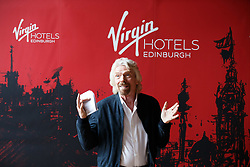 Sir Richard Branson during the Virgin Hotels groundbreaking event at India Buildings, Edinburgh.