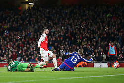 Goal, Olivier Giroud of Arsenal scores, Arsenal 3-1 Sunderland - Mandatory byline: Jason Brown/JMP - 07966386802 - 09/01/2016 - FOOTBALL - Emirates Stadium - London, England - Arsenal v Sunderland - The Emirates FA Cup