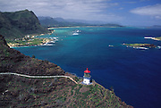 Makapu'u Lighthouse, Oahu, Hawaii<br />