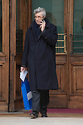 2013/03/29 Roma, politici in Piazza Montecitorio. Nella foto Cesare Damiano.<br /> Rome, politicians in Montecitorio Square. In the picture Cesare Damiano - &copy; PIERPAOLO SCAVUZZO