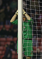 Photo: Andrew Unwin.<br />Sunderland v Luton Town. Coca Cola Championship. 09/12/2006.<br />Luton's on-loan goalkeeper, Dean Kiely.