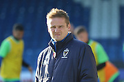 AFC Wimbledon manager Neal Ardley  prior the The Emirates FA Cup 1st Round match between Bury and AFC Wimbledon at the JD Stadium, Bury, England on 5 November 2016. Photo by Stuart Butcher.