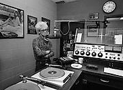 Adam Clayton U2 in the WXRT Studio  - Chicago 1981