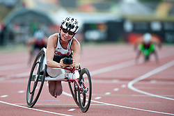 STILWELL Michelle, CAN, 200m, T52, 2013 IPC Athletics World Championships, Lyon, France