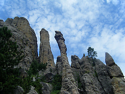 Needles Highway scenic vista