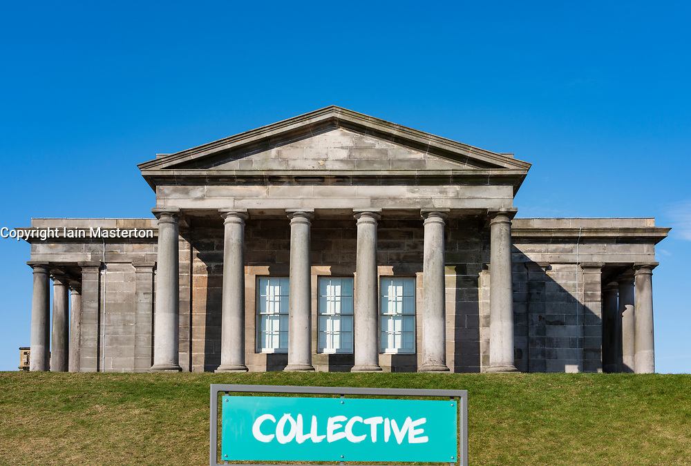 The new Collective arts centre at the  former City Observatory on Calton Hill in Edinburgh, Scotland, UK