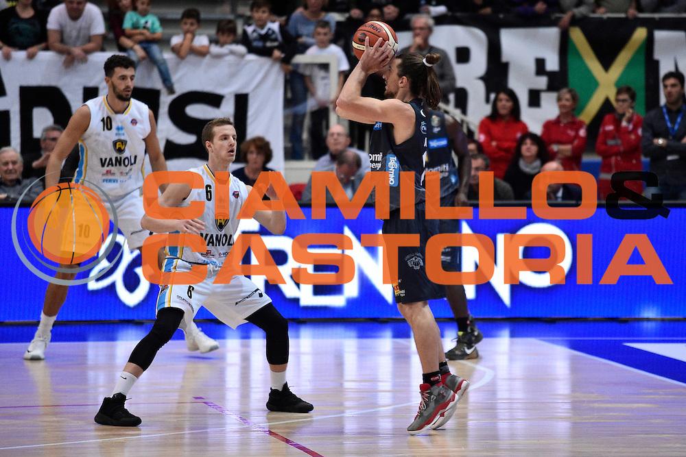 Forray Toto<br /> Dolomiti Energia Trento - Vanoli Cremona<br /> Lega Basket Serie A 2016/2017<br /> Trento 09/10/2016<br /> Foto Ciamillo-Castoria