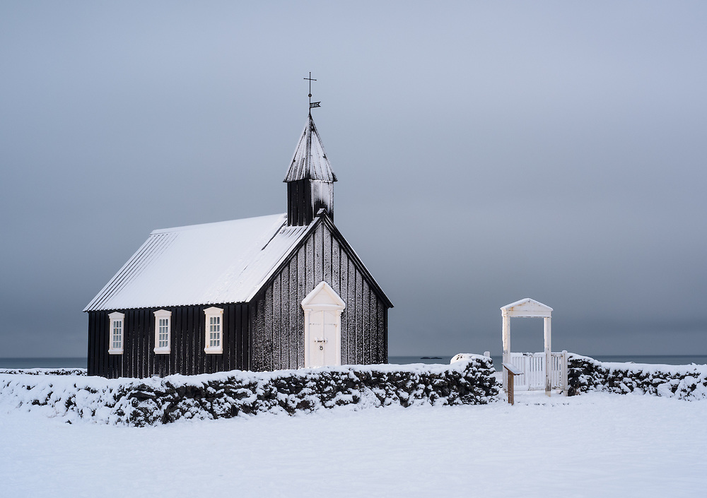 Churxh at Búðir, Iceland