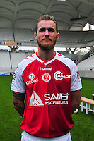 Antoine Devaux - 21.10.2014 - Photo officielle Reims - Ligue 1 2014/2015<br /> Photo : Philippe Le Brech / Icon Sport