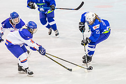 Prsina Ana of Slovenia during hockey match between Slovenia and Great Britain in IIHF World Womens Championship, Division II, Group A, on April 4, 2018 in Ledena dvorana Maribor, Maribor, Slovenia. Photo by Ziga Zupan / Sportida