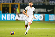 Aleksandar Kolarov of AS Roma during the Italian championship Serie A football match between FC Internazionale and AS Roma on January 21, 2018 at Giuseppe Meazza stadium in Milan, Italy - Photo Morgese - Rossini / ProSportsImages / DPPI