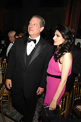 AL GORE and RENU MEHTA at the 2nd Fortune Forum Summit and Gala Dinner held at the Royal Courts of Justice, The Strand, London on 30th November 2007.<br /><br />NON EXCLUSIVE - WORLD RIGHTS